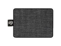 Officeworks Seagate 500GB One Touch Portable SSD Drive Black
