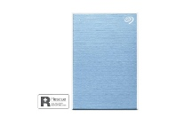 Officeworks Seagate 2TB OneTouch Portable Hard Drive Sky Blue