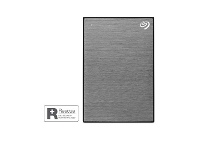 Officeworks Seagate 2TB OneTouch Portable Hard Drive Space Grey