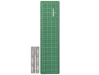 Officeworks J.Burrows Cutting Mat with Pen Knife Set