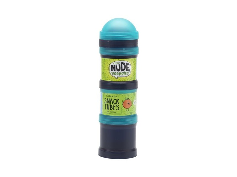 Smash Nude Food Movers Snack Tubes Teal and Navy 3 Pack