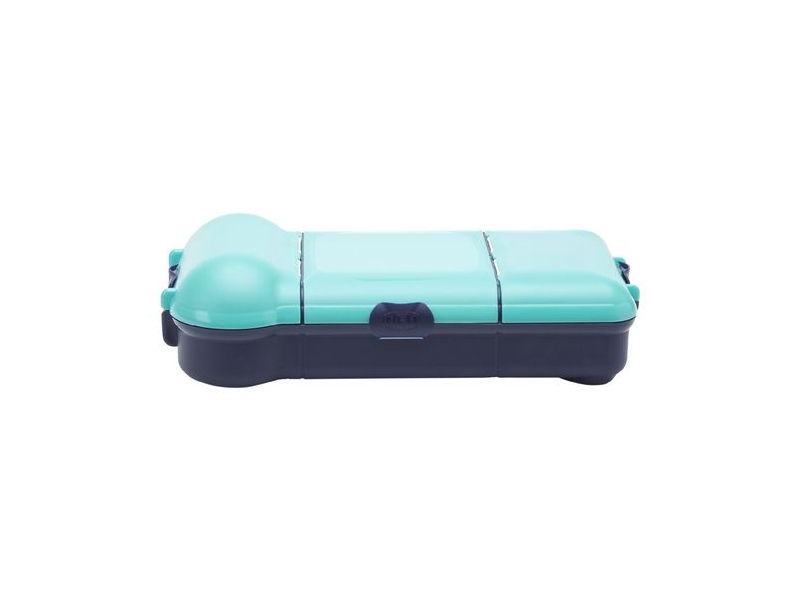 Smash Nude Food Movers Rubbish Free Lunch Box Navy and Teal