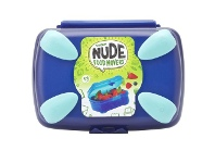 Smash Nude Food Snack Box Navy and Teal
