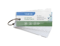 Officeworks Studymate Word Cards 50 Sheets White