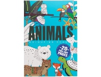 Officeworks Studymate A4 Colouring Book Animals