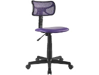 Officeworks Studymate Charlie Student Chair Purple