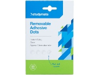 Officeworks Studymate Removable Glue Dots 80 Pack