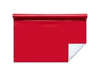 Officeworks Studymate Self-adhesive Book Cover Roll 1m Red