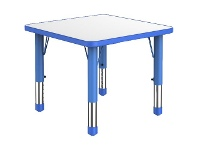 Officeworks Studymate Kids Square Table White and Blue