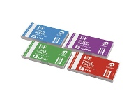 Officeworks Olympic Check Ticket Books 4 Pack