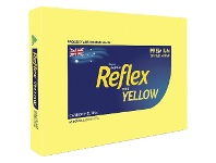 Officeworks Reflex Colours 80gsm A3 Copy Paper Yellow 500 Sheets