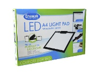 Officeworks Triumph A4 LED Light Pad with Stand