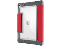 """Officeworks STM Bags STM Dux Plus Duo Case for iPad 10.2"""" 7/8/9th Gen Red"""