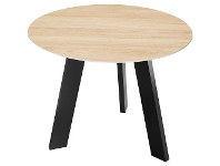 Officeworks Stilford Professional Side Table 600mm Oak