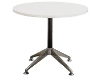 Stilford Round Meeting Table 900mm White