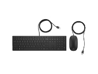 Officeworks HP Pavilion 400 Wired Keyboard and Mouse Combo