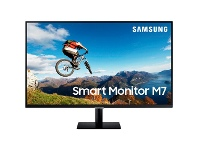 "Officeworks Samsung 32"" Smart Monitor Black"
