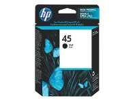 Officeworks HP 45 Ink Cartridge Black