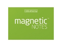 Officeworks Tesla Amazing Magnetic Notes 70 x 50mm Green