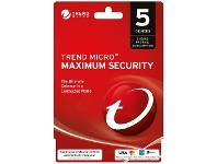 Officeworks Trend Micro Maximum Security 5 Devices 2 Years Card