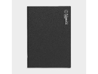 Officeworks Upward A4 2022 Month to View Planner Black