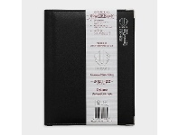 Officeworks Upward B5 Week to View FY21/22 Deluxe Diary Black