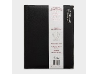Officeworks Upward A4 Week to View FY21/22 Deluxe Diary Black