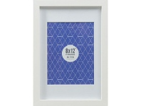 """Officeworks Lifestyle Brands Promenade Frame 8 x 12"""" with 6 x 8"""" Opening White"""