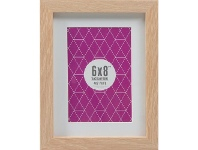"""Lifestyle Brands Promenade Frame 6 x 8"""" with 4 x 6"""" Opening Oak"""