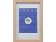 """Officeworks Lifestyle Brands Promenade Frame 8 x 12"""" with 6 x 8"""" Opening Oak"""