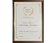 Officeworks Lifestyle Brands A4 Certificate Frame Timber Look
