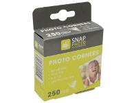 Officeworks Lifestyle Brands Photo Corners Clear 250 Pack