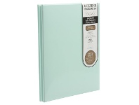 Officeworks Lifestyle Brands NCL 20 White Page Refillable Adhesive Photo Album A4 Green