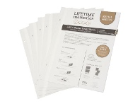 Officeworks Lifestyle Brands NCL A4 Self-Adhesive Photo Album Refills 5 Pack White