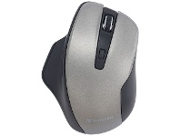 Officeworks Verbatim Ergonomic Wireless Mouse Graphite