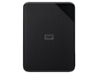 Officeworks WD 4TB Elements SE Portable Hard Drive Black