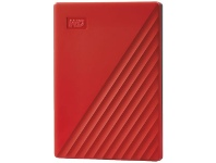 Officeworks WD 2TB My Passport Portable Hard Drive Red