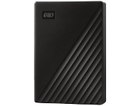 Officeworks WD 5TB My Passport Portable Hard Drive Black