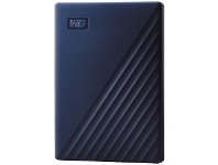 Officeworks WD 2TB My Passport Portable Hard Drive Mac Blue