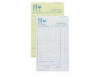 Officeworks Zions Carbonless Duplicate Restaurant Docket Book