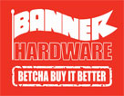 Banner Hardware -- Blackwood