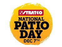 Stratco National Patio Day Dec 7th