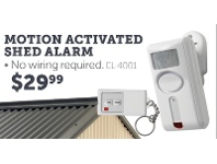 Motion Activated Shed Alarm