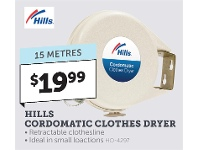 Stratco Hills Cordomatic Clothes Dryer