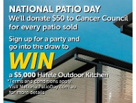 Stratco National Patio Day
