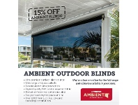 Stratco Stratco Ambient Outdoor Blinds