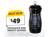 Stratco Enforcer 20W Insect Zapper
