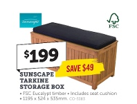 Stratco Sunscape Tarkine Storage Box