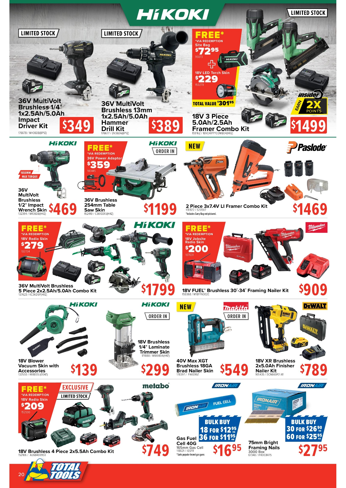 Total Tools: Gear Up