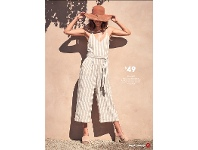 Target Linen Blend Jumpsuit Sizes 8-20